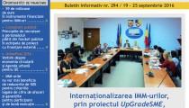 A apărut buletinul informativ InfoRegional Sud Muntenia nr. 294!