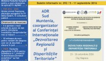 A apărut buletinul informativ InfoRegional Sud Muntenia nr. 292!