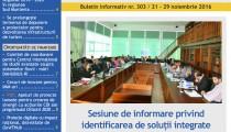 A apărut buletinul informativ Info Regional Sud Muntenia nr. 303!