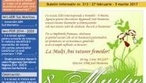 A apărut buletinul informativ Info Regional Sud Muntenia nr. 313!