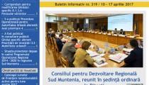 A apărut buletinul informativ Info Regional Sud Muntenia nr. 319!