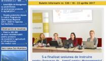 A apărut buletinul informativ Info Regional Sud Muntenia nr. 320!