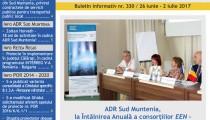 A apărut buletinul informativ Info Regional Sud Muntenia nr. 330!