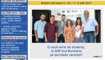A apărut buletinul informativ Info Regional Sud Muntenia nr. 331!