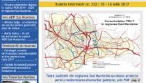A apărut buletinul informativ Info Regional Sud Muntenia nr. 332!