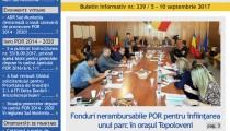 A apărut buletinul informativ Info Regional Sud Muntenia nr. 339!