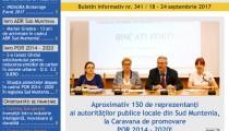A apărut buletinul informativ Info Regional Sud Muntenia nr. 341!