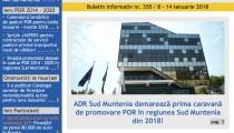 A apărut buletinul informativ Info Regional Sud Muntenia nr. 355!