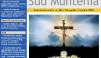 A apărut buletinul informativ Info Regional Sud Muntenia nr. 366!