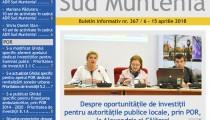 A apărut buletinul informativ Info Regional Sud Muntenia nr. 367!