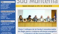 A apărut buletinul informativ Info Regional Sud Muntenia nr. 372!