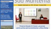 A apărut buletinul informativ Info Regional Sud Muntenia nr. 373!