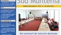A apărut buletinul informativ Info Regional Sud Muntenia nr. 374!