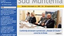 A apărut buletinul informativ Info Regional Sud Muntenia nr. 388!