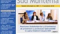 A apărut buletinul informativ Info Regional Sud Muntenia nr. 389!
