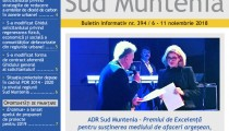 A apărut buletinul informativ Info Regional Sud Muntenia nr. 396!