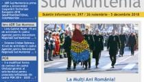 A apărut buletinul informativ Info Regional Sud Muntenia nr. 397!