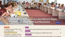 A apărut buletinul informativ Info Regional Sud Muntenia nr. 429!